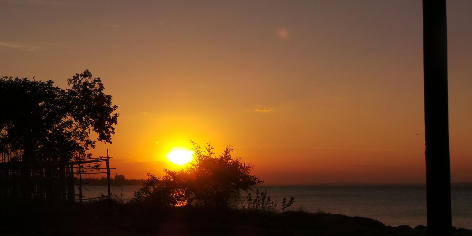 tramonto Mozambico